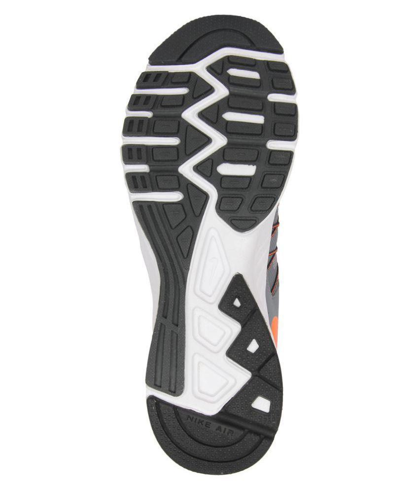 ... Nike AIR RELENTLESS 6 MSL Gray Running Shoes ...