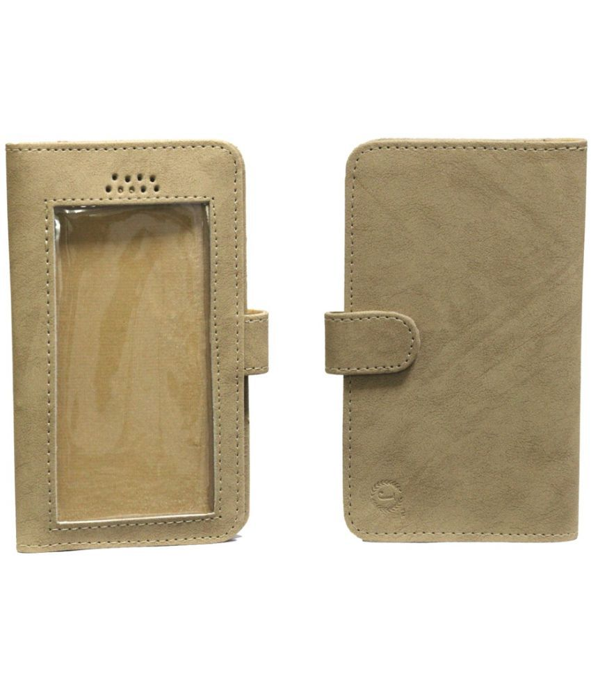 Lenovo A6000 Holster Cover by Jojo - Brown