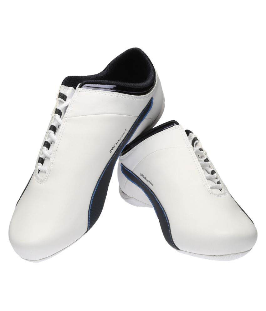 8b533ec73ccd94 Puma BMW MS Future Cat S2 Sneakers White Casual Shoes - Buy Puma BMW ...