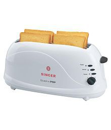 Singer Quadro Pop 1100 Watts Pop Up Toaster