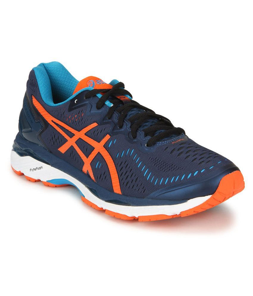 05143b97a0617d Asics Gel-Kayano 23 Blue Running Shoes - Buy Asics Gel-Kayano 23 Blue  Running Shoes Online at Best Prices in India on Snapdeal