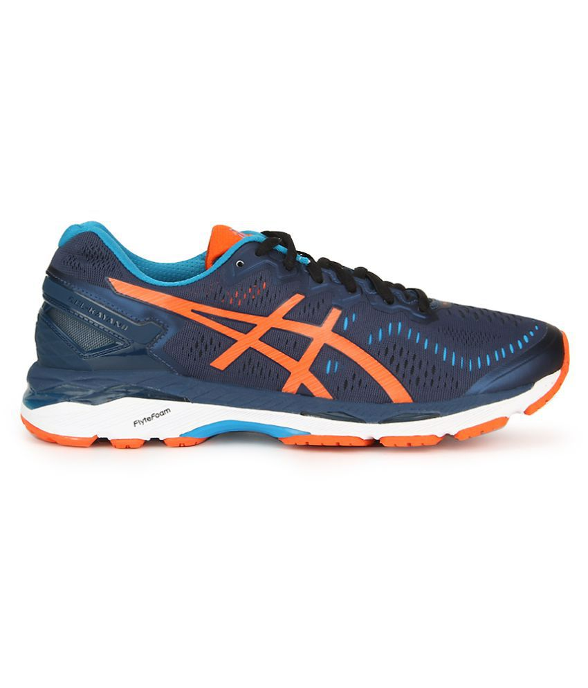 Shoes Asics 23 Kayano Blue Running Gel 34LAR5j