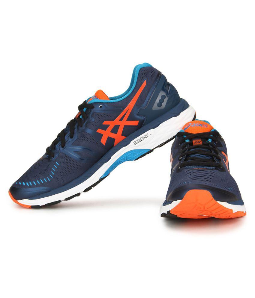 separation shoes b9432 0d81e Asics Gel-Kayano 23 Blue Running Shoes