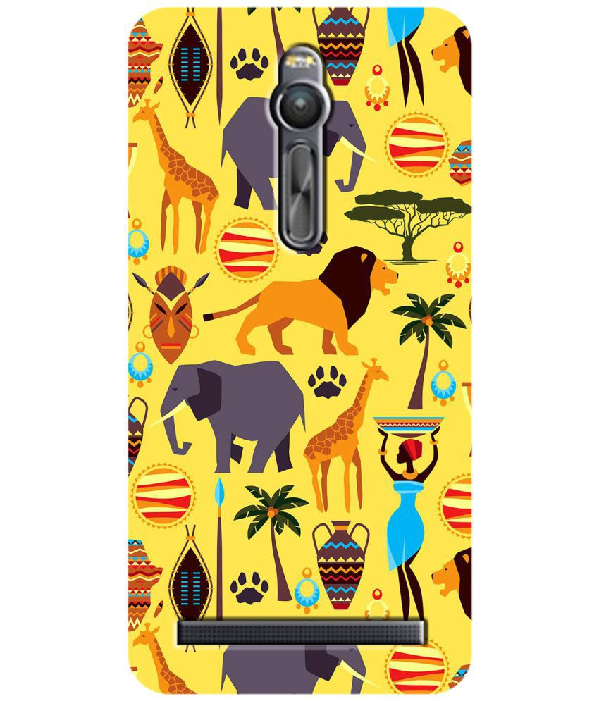 Asus Zenfone 2 Printed Cover By SWAGMYCASE