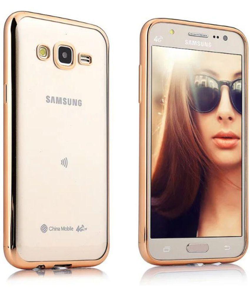 Samsung Galaxy J7 (2016) Cover by Galaxy Plus - Golden