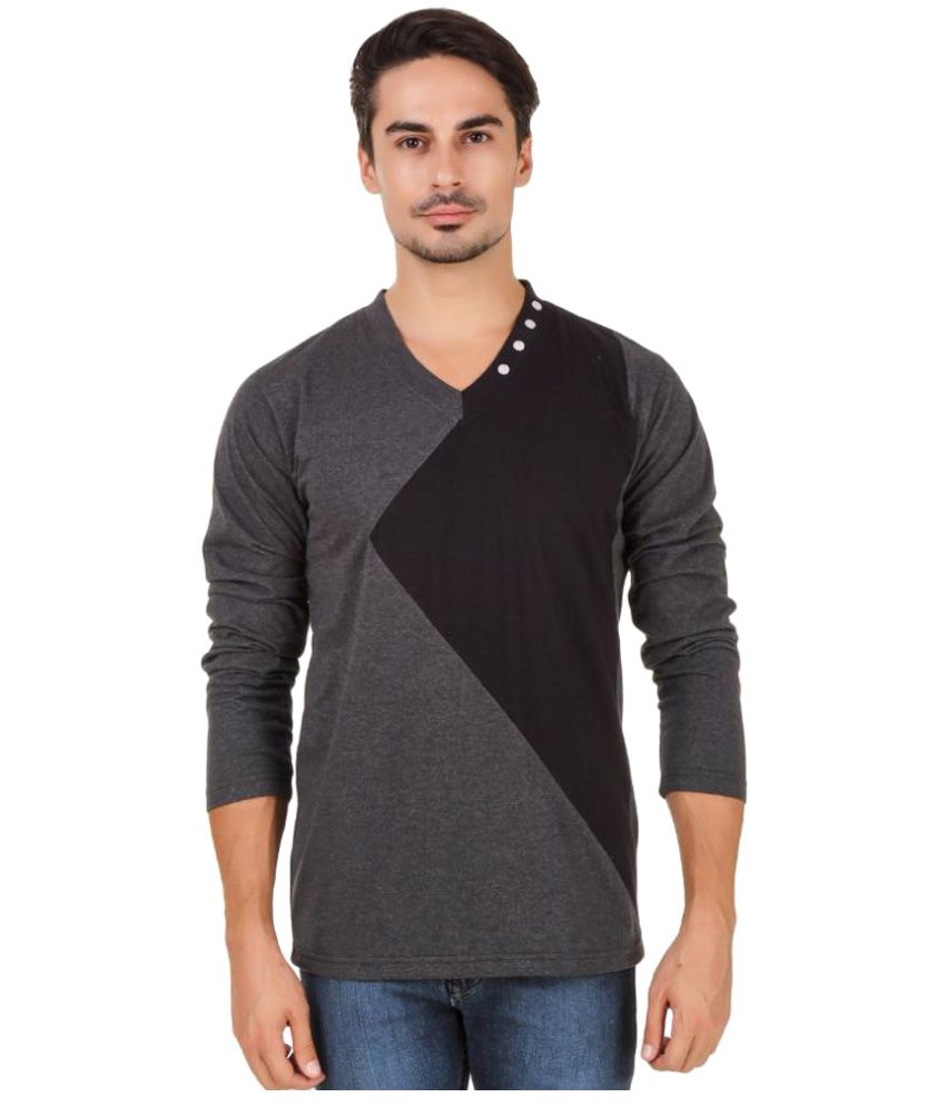 Aurelio Marco Multi V-Neck T-Shirt