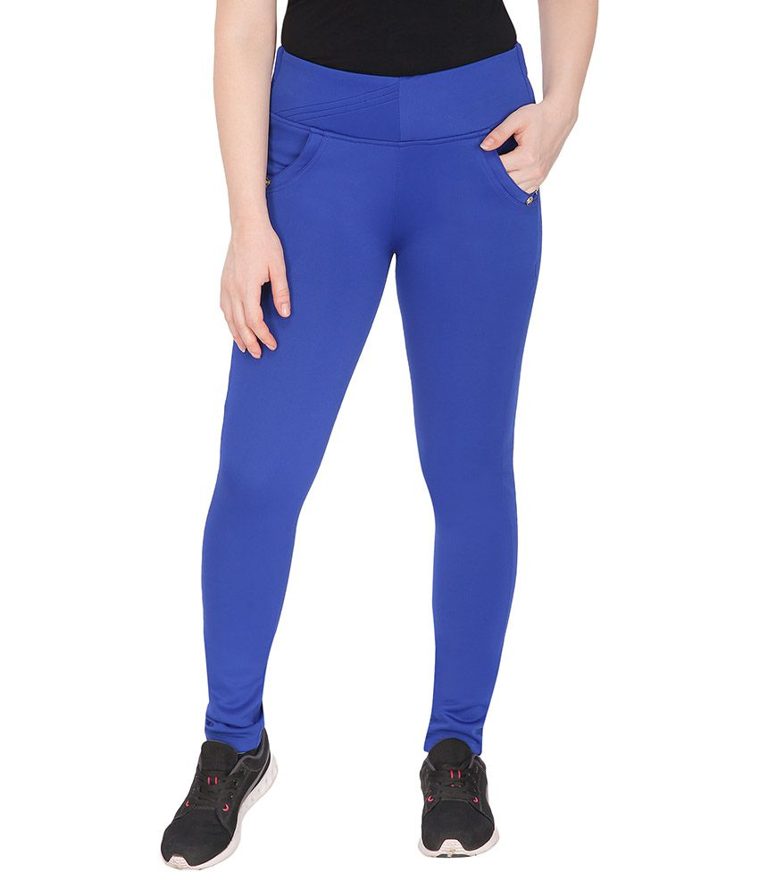 Fad Cotton Lycra Jeggings