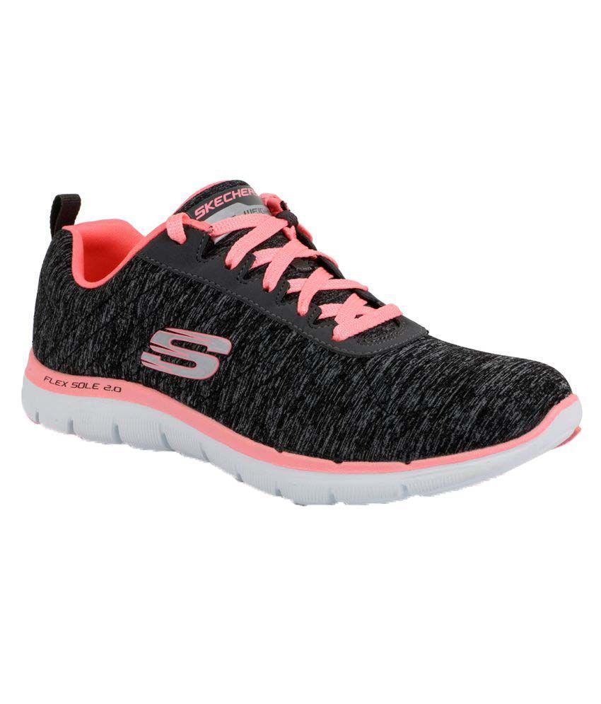 Skechers Black Training Shoes