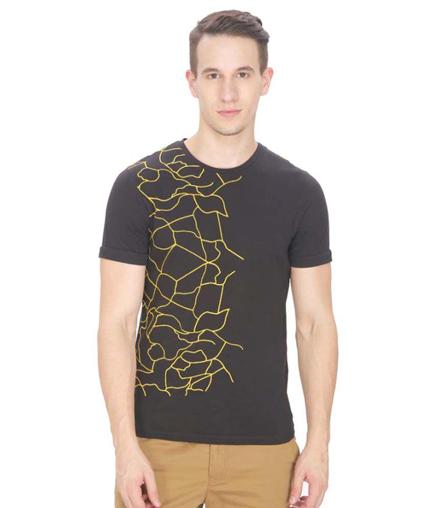 Leo Sansini Black Round T-Shirt