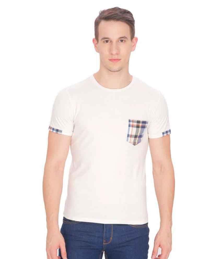 Leo Sansini White Round T-Shirt