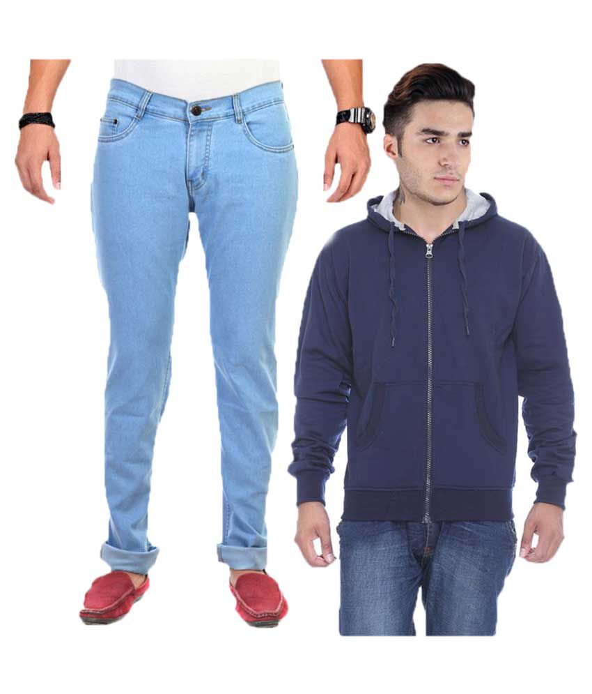 Van Galis Blue Regular Fit Solid