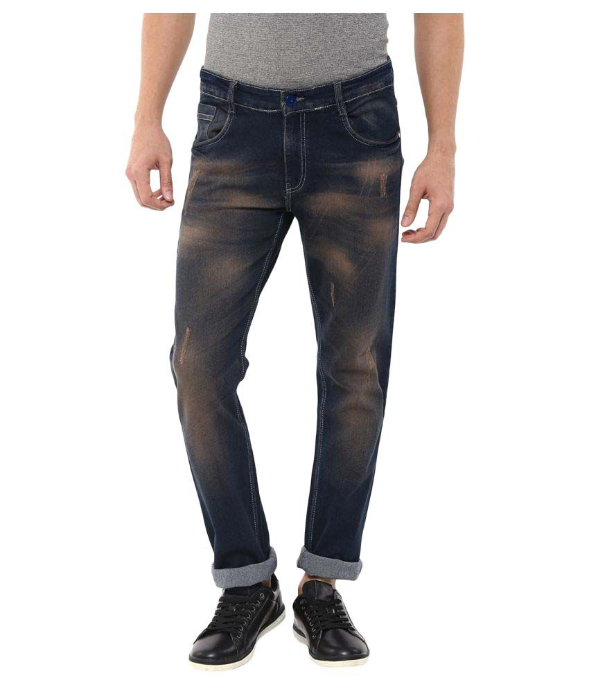 11cent Black Slim Washed