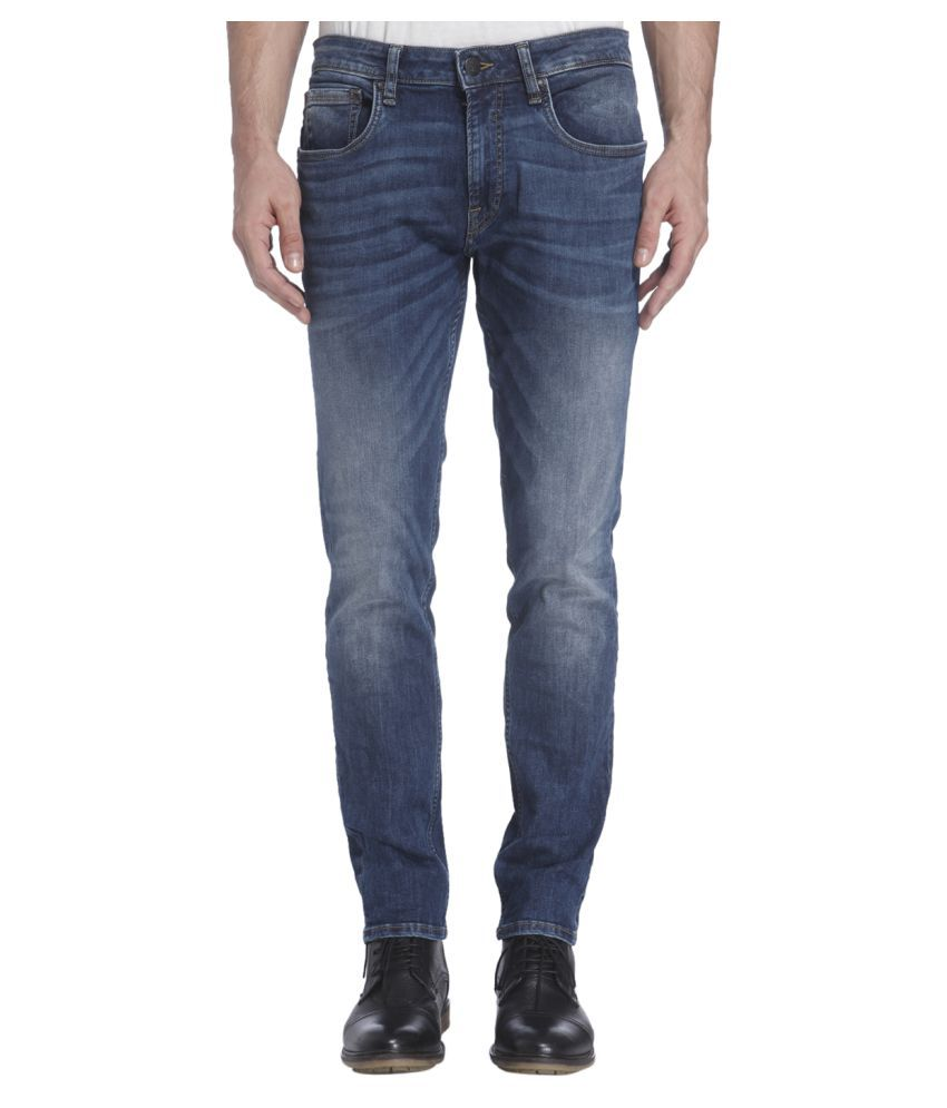 Jack & Jones Blue Slim Solid