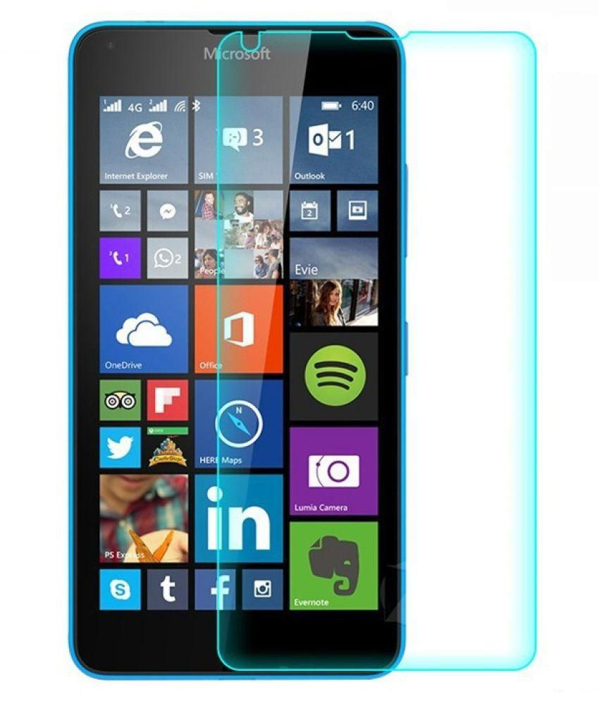 Nokia Lumia 730 Tempered Glass Screen Guard By Royal Touch