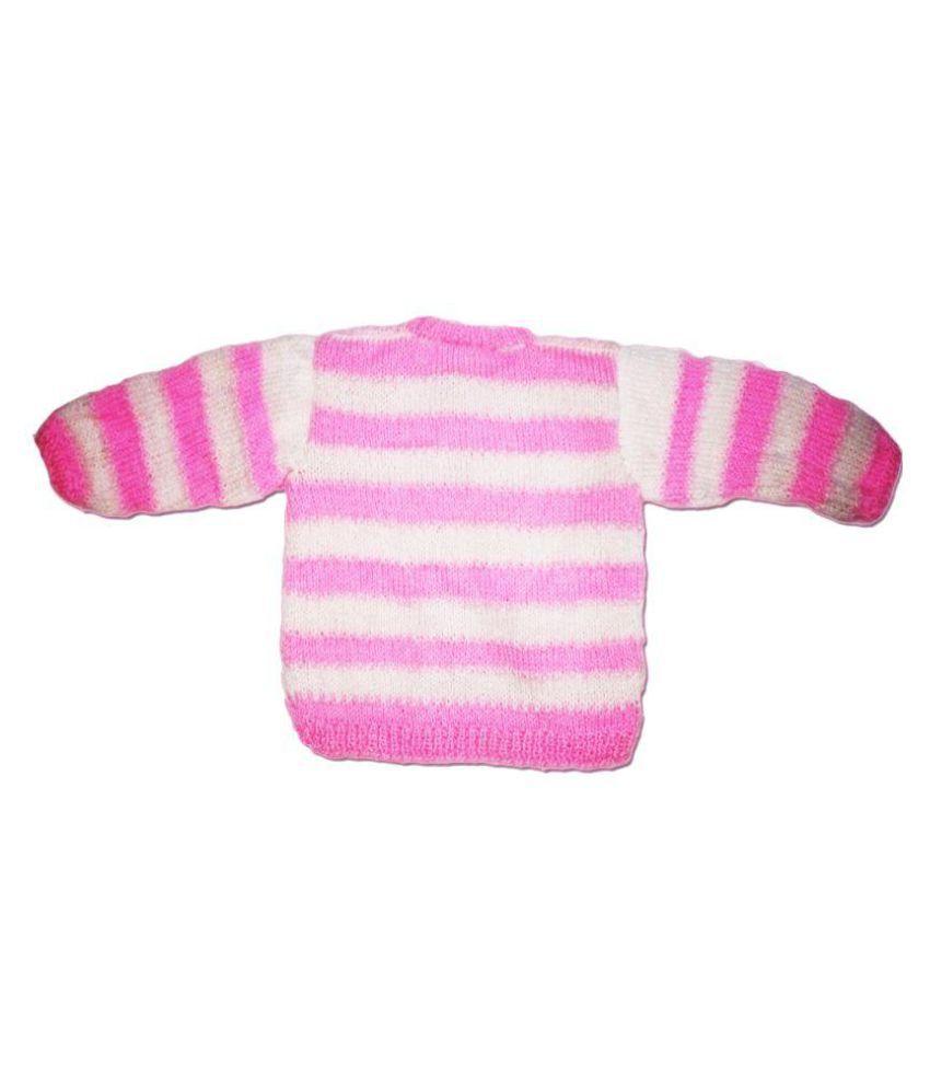 63d76ebfc Dadima Ki Bunai Hand Knitted Pink Sweater Set - Buy Dadima Ki Bunai ...