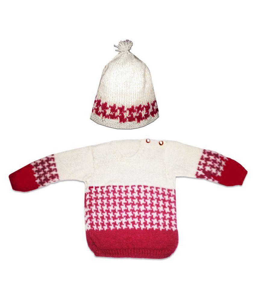 4e759c52f Dadima Ki Bunai Multicolour Sweaters with Cap - Buy Dadima Ki Bunai ...