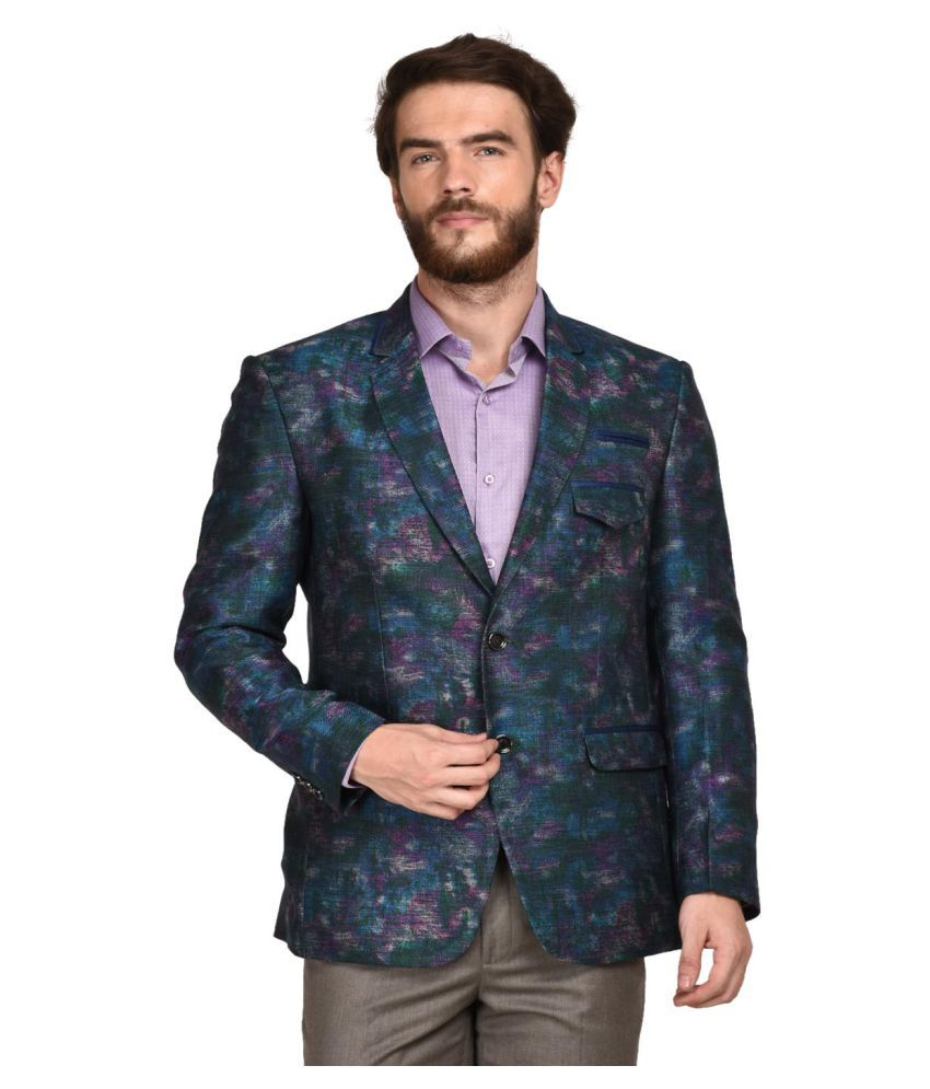 La Mode Multi Washed Party Blazers