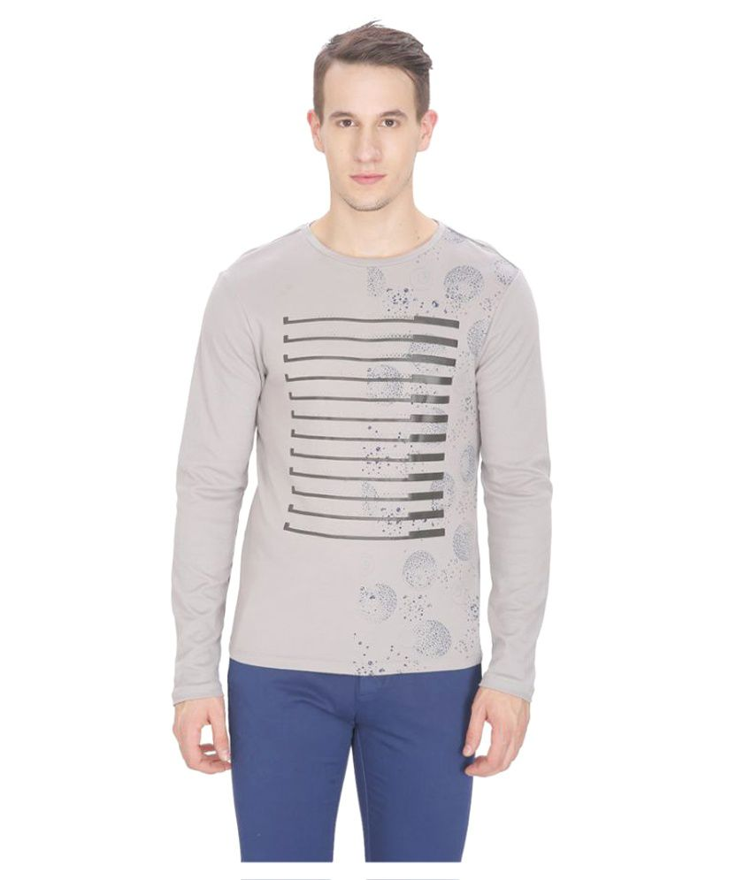 Leo Sansini Grey Round T-Shirt