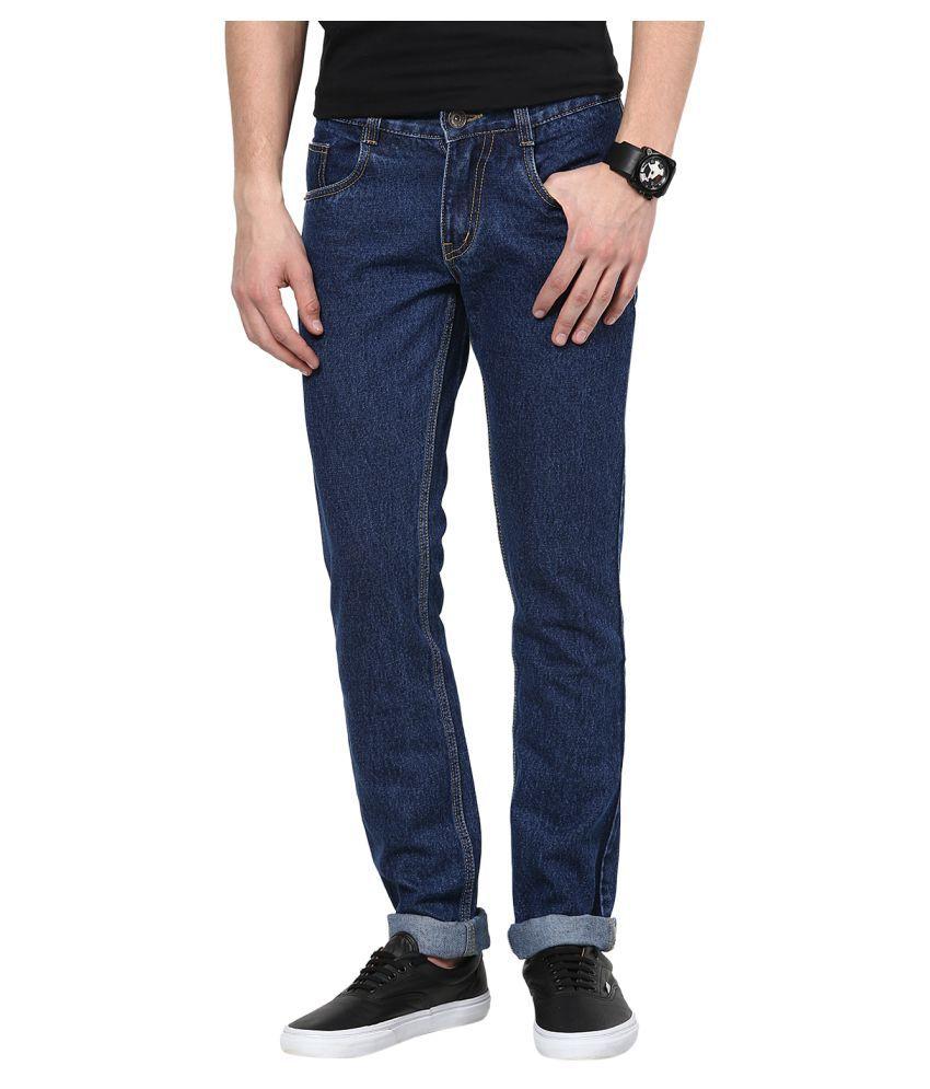 11cent Dark Blue Slim Solid