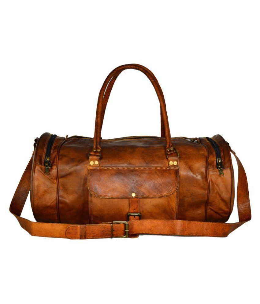 Adimani Brown Gym Bag