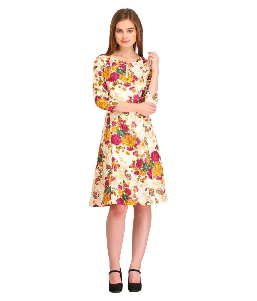 Cottinfab Silk Dresses