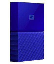 WD My Passport 2 TB USB 3.0 External Hard Drive (Blue)