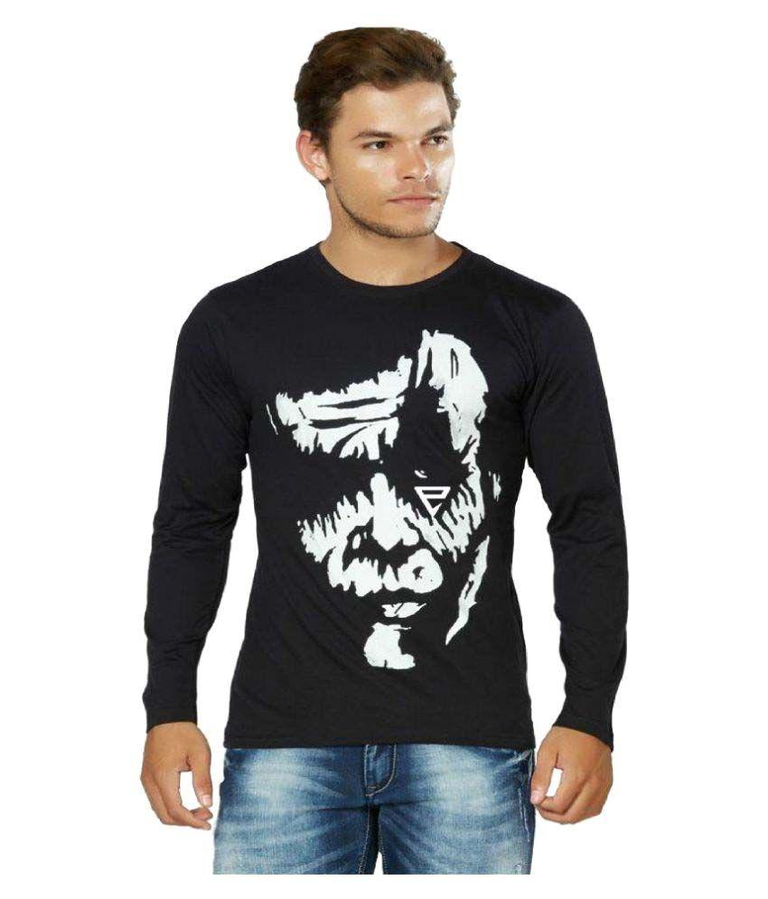 Eposch Black Round T-Shirt