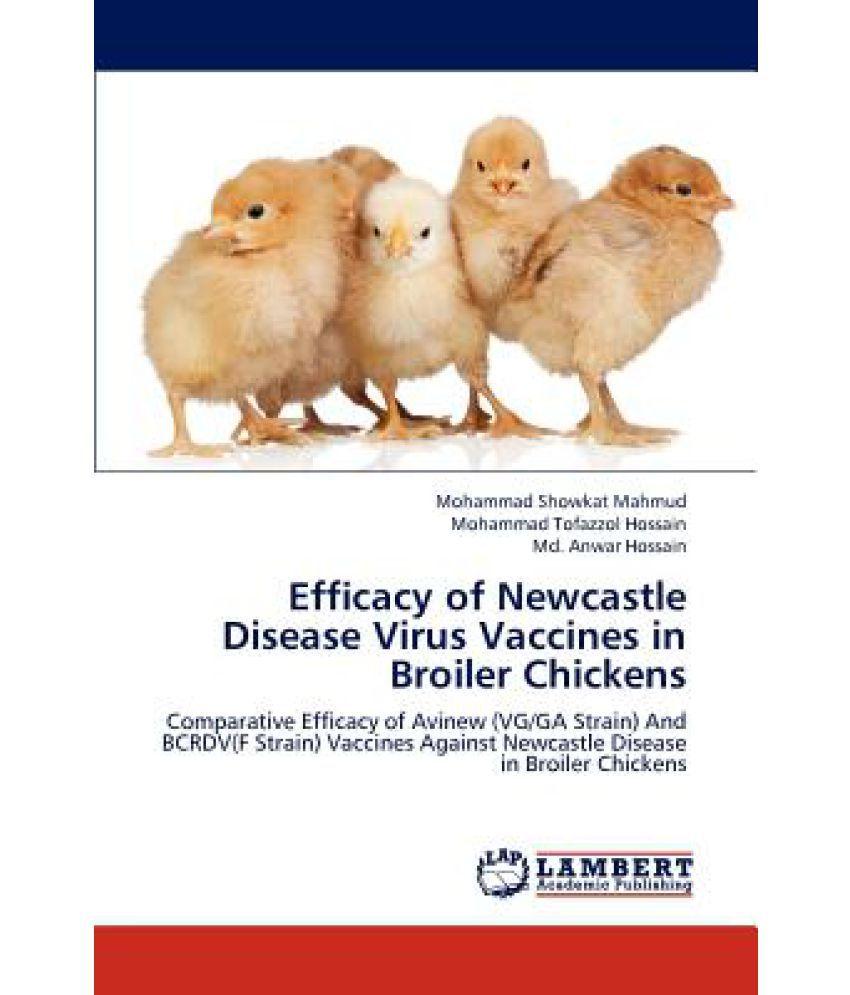 Efficacy of Newcastle Disease Virus Vaccines in Broiler Chickens