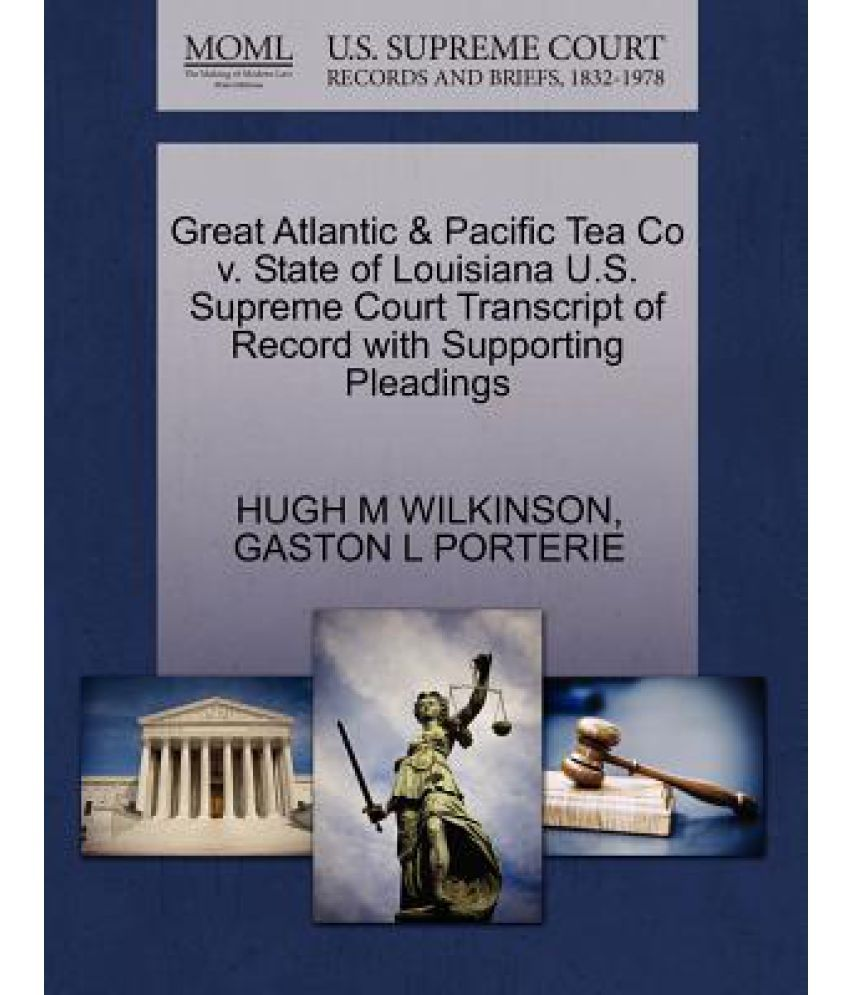 a company profile review of the great atlantic and pacific company of canada The great atlantic & pacific tea company, inc canada the suit involved a please complete this form to request a review of your complaint by an attorney.