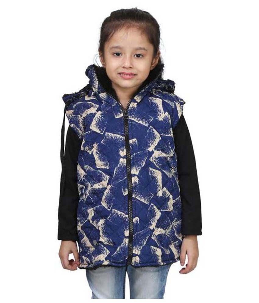 Qeboo Blue Light Weight Jacket