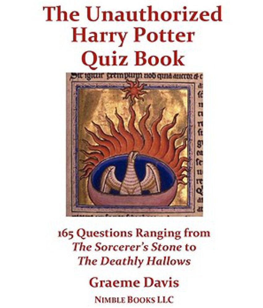 Harry Potter Book Error ~ The unauthorized harry potter quiz book questions