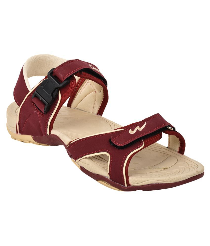 5f4e31ed141 Campus Jazzy Model Red Color Kids Sports Sandals Price in India- Buy ...