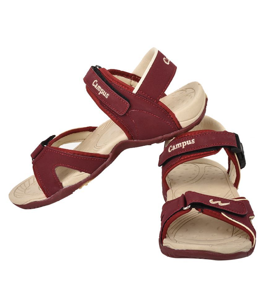 Campus Jazzy Model Red Color Kids Sports Sandals Price in India- Buy ... c4a02c8e71e3