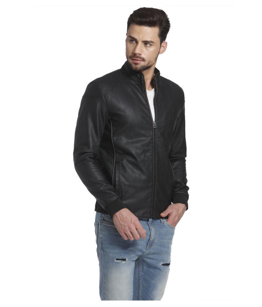 Leather jacket jack and jones - Jack Jones Black Leather Jacket Jack Jones Black Leather Jacket