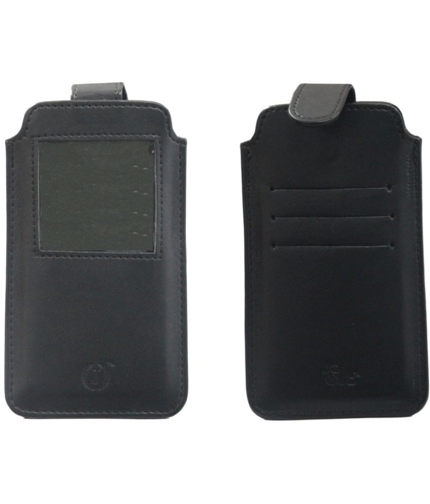 ZTE Grand X Quad Lite Holster Cover by Jojo - Black