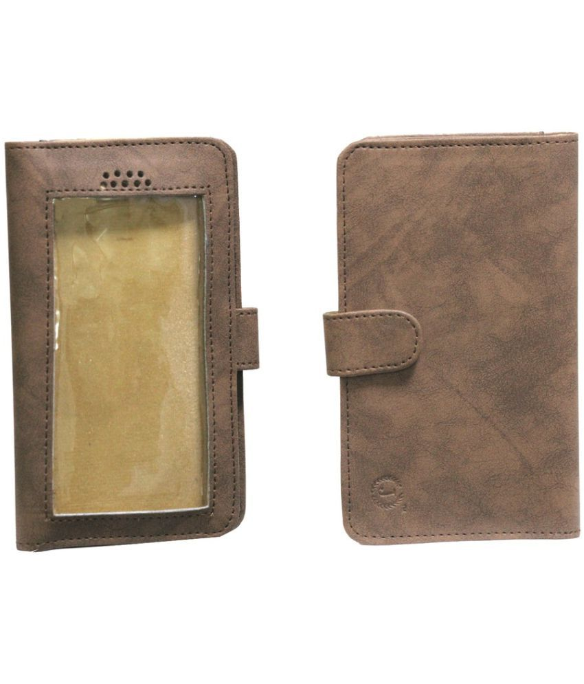 Xolo A600 Holster Cover by Jojo - Brown