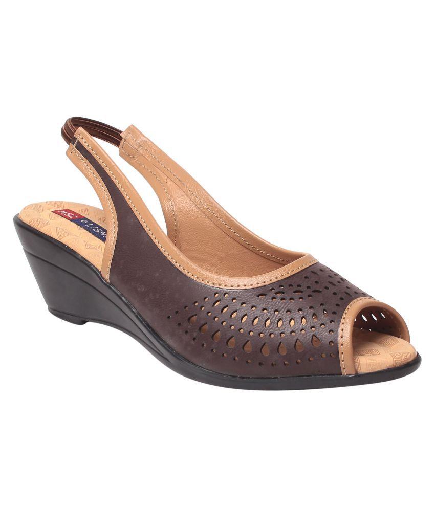 MSC Brown Heels