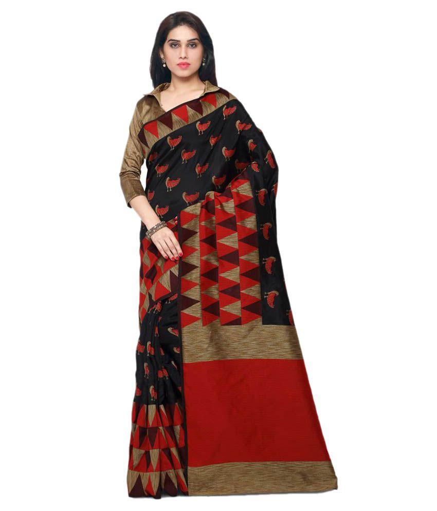 2f89e1debf Saree Mall Multicoloured Bangalore Silk Saree - Buy Saree Mall  Multicoloured Bangalore Silk Saree Online at Low Price - Snapdeal.com