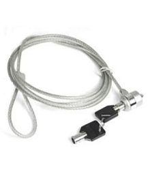De TechInn Laptop / Notebook Security Key Lock Steel Cable