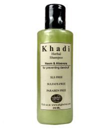 Khadi Herbal NEEM & ALOEVERA   SLS & PARABEN FREE Shampoo 210 Ml