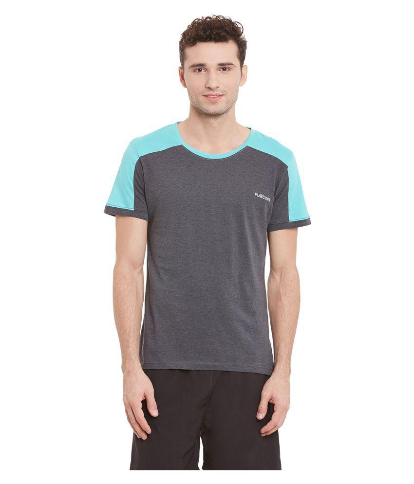 Yepme Grey Round T-Shirt
