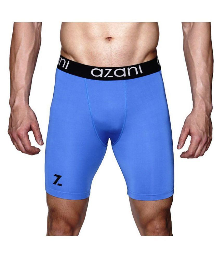 Azani Original Series Compression Performance Underwear - Blue