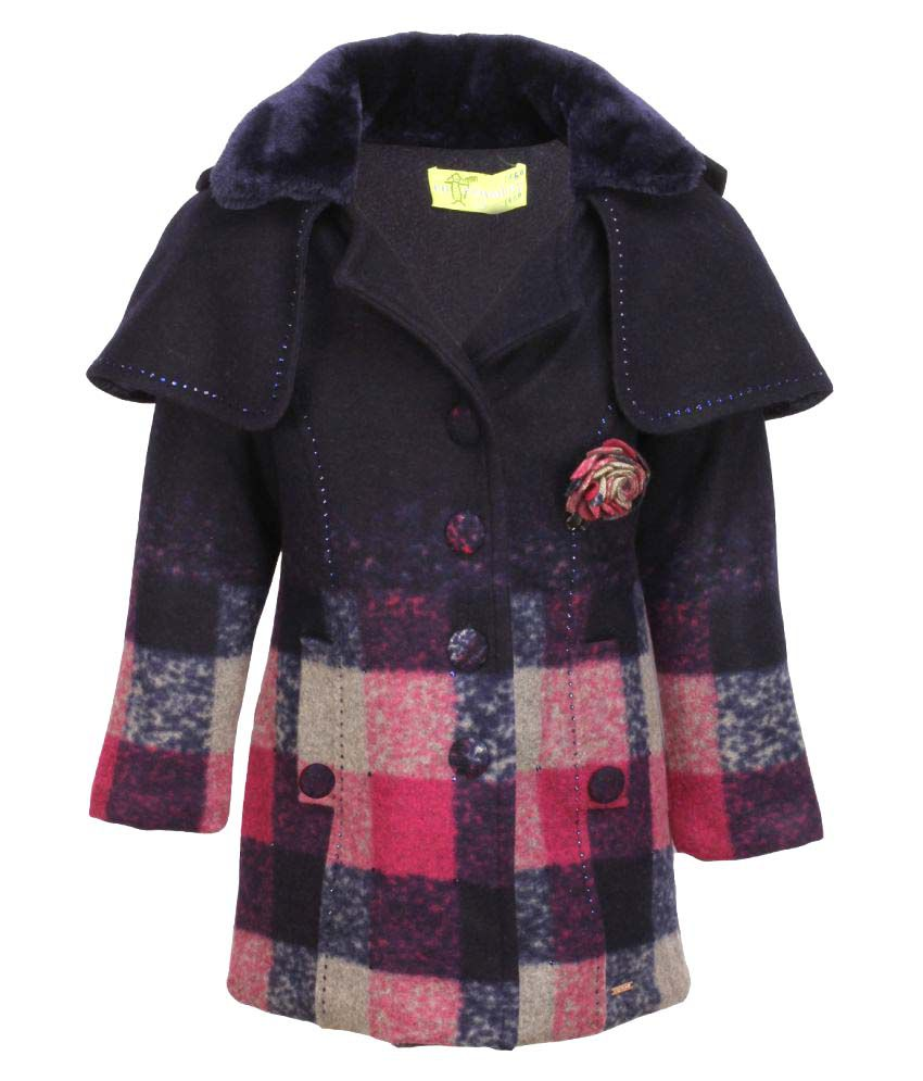 Cutecumber Multicolour Polyester Coat
