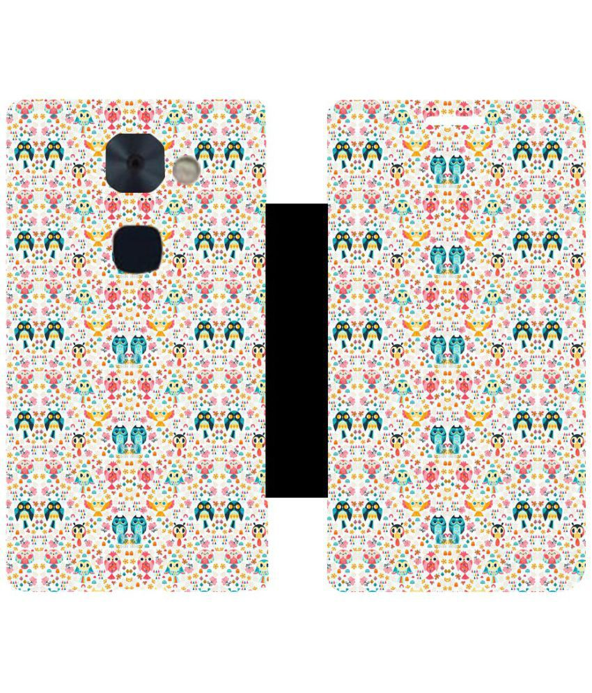 LeEco Le2 Flip Cover by Skintice - White