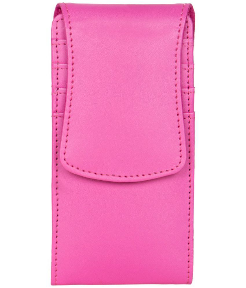 Celkon XION S CT695 Holster Cover by Senzoni - Pink