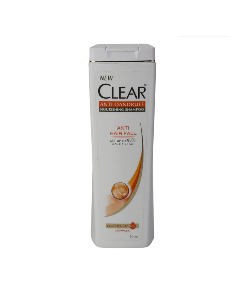 Clear Anti Hair Fall Anti Dandruff Shampoo 80 Ml