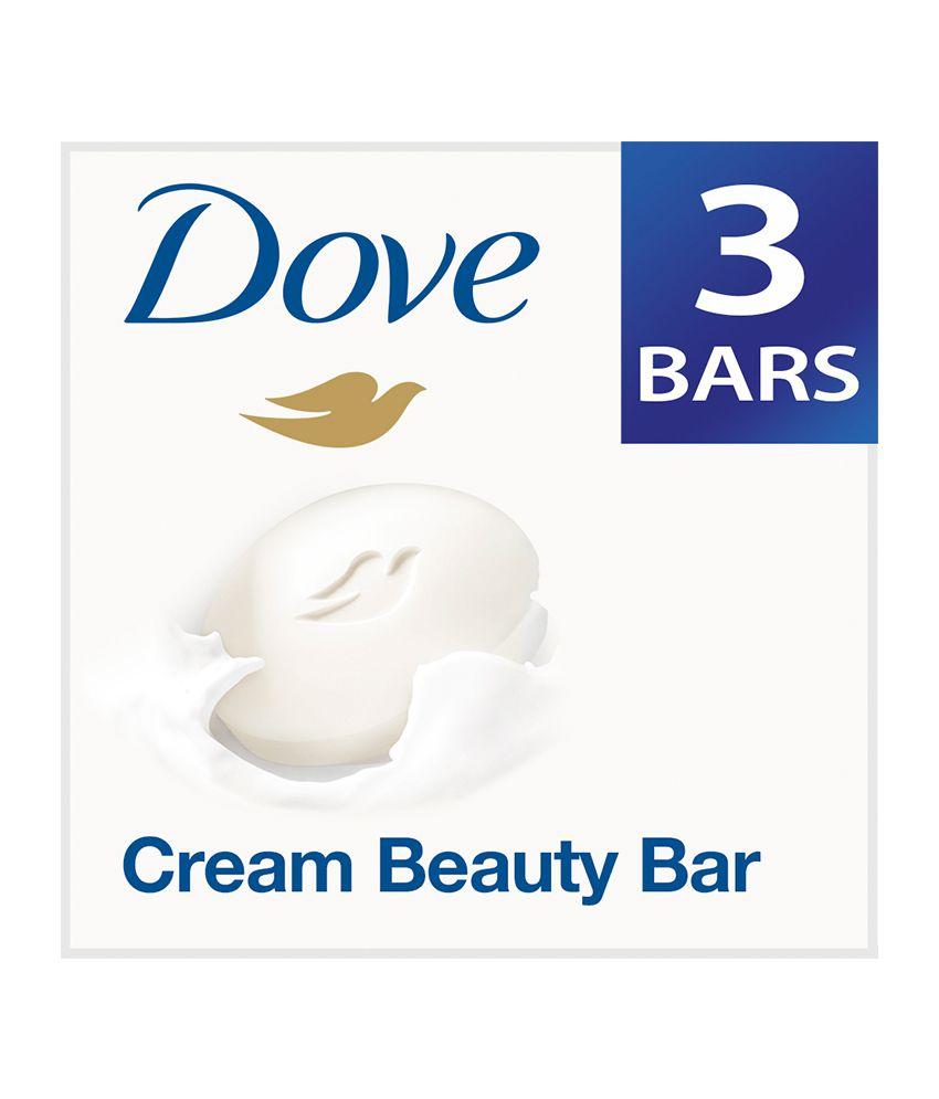 Dove Cream Beauty Bathing Bar 3X100 G