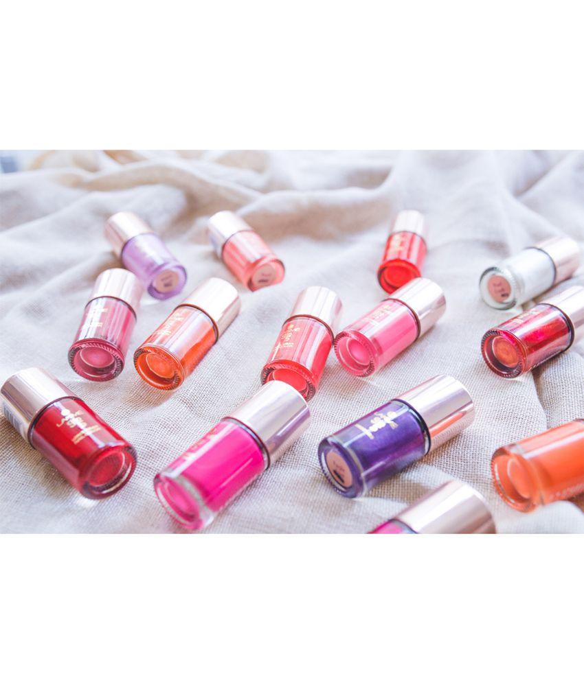 Gel Nail Polish Lakme: Lakme 9 To 5 Long Wear Nail Color, Peach Ploy, 9 Ml: Buy