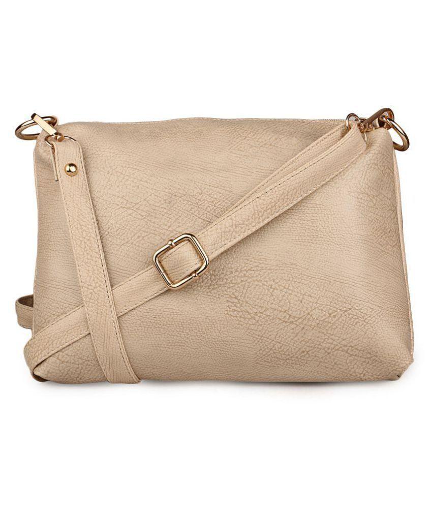 f1350bf3753 Speed X Fashion Sepia P.U. Sling Bag - Buy Speed X Fashion Sepia ...