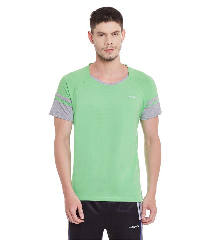 Yepme Green Round T-Shirt